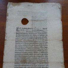 Manuscritos antiguos: LEÓN, SANTA MARINA DEL REY, VENTA DE LA ESCRIBANÍA DE MILLONES, 1636, 12 PAGS. Lote 161531174