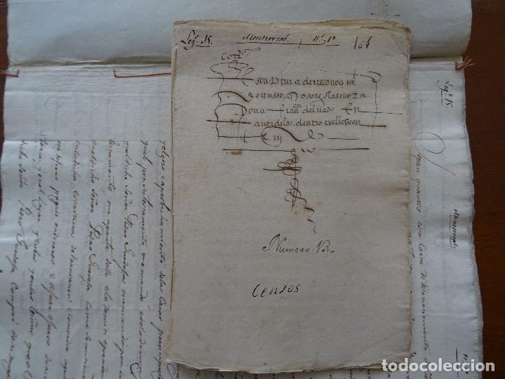 SALAMANCA, ALBA DE TORMES, 1577, CENSO DE VIÑAS, COFRADÍA SAN MARCOS, MONASTERIO SANTA ANA (Coleccionismo - Documentos - Manuscritos)