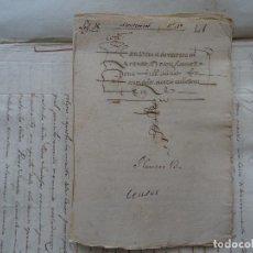 Manuscritos antiguos: SALAMANCA, ALBA DE TORMES, 1577, CENSO DE VIÑAS, COFRADÍA SAN MARCOS, MONASTERIO SANTA ANA. Lote 161532958