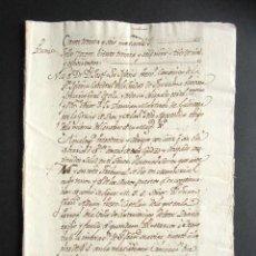 Manuscritos antiguos: AÑO 1800. TARAZONA. ZARAGOZA. EDICTO. PRESBÍTERO CANÓNIGO CATEDRAL DE TARAZONA. CONSEJO MAJESTAD. Lote 161579946