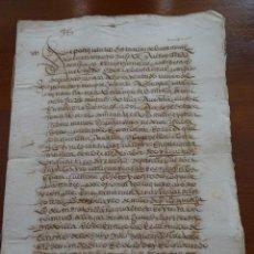 Manuscritos antiguos: SALAMANCA, COCA, JURISDICCIÓN ALBA DE TORMES, VENTA TIERRAS, CORRALES, CASAS, 1576, 6 PAGS. Lote 162743406