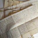 Manuscritos antiguos: LOTE DE SIETE MANUSCRITOS SIGLO XVII, TODOS EN FRANCÉS.. Lote 162944402