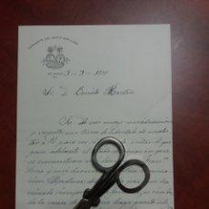 Manuscritos antiguos: ALCOY CONVENTO DEL SANTO SEPULCRO , 1900. Lote 163153982