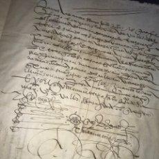Manuscritos antiguos: ARRENDAMIENTO DE UNAS CASAS EN VALLADOLID 1582.. Lote 163956234