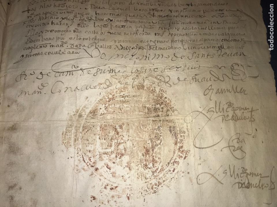 1579 FELIPE II. EMPLAZAMIENTO POR NUEVA DEMANDA. VALLADOLID, SEGOVIA. (Coleccionismo - Documentos - Manuscritos)