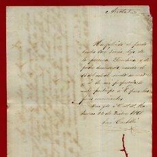 Manuscritos antigos: DOCUMENTO ESCLAVOS , CERTIFICADO DEFUNCION DE UN ESCLAVO PARDO , CUBA 1868 ,ORIGINAL , D11 -29. Lote 183757843