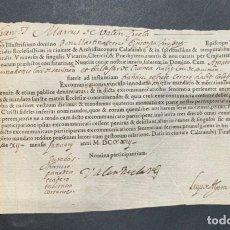 Manuscritos antiguos - 1623 - Excomunicationis vinculo innodatus - Calatayud - Tarazona - 164701382