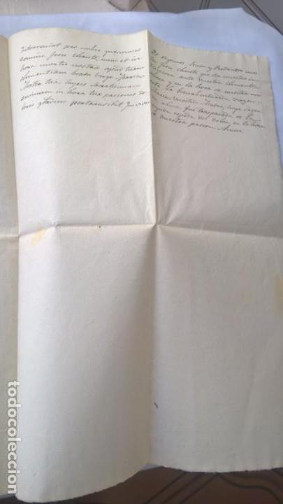 Manuscritos antiguos: Dos hojas manuscritas, conteniendo Letanías - - Foto 3 - 164842642