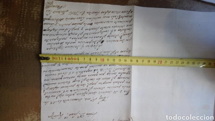 Manuscritos antiguos: Lote de tres cartas manuscrito de 1816 (Madrid. Salamanca. Cantalapiedra) - Foto 2 - 164947460