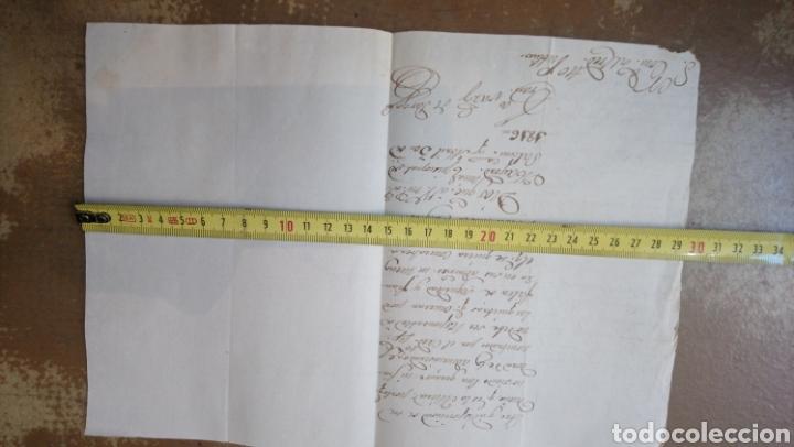 Manuscritos antiguos: Lote de tres cartas manuscrito de 1816 (Madrid. Salamanca. Cantalapiedra) - Foto 4 - 164947460