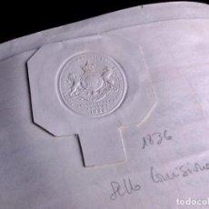 Manuscritos antiguos: MANUSCRITO EN INGLÉS SOBRE PERGAMINO 1870. Lote 165046630