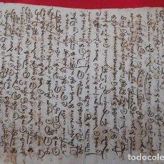 Manuscritos antiguos: CARTA DE COMPRA DE CASA POR EL MONAST.° DEL PAULAR, AÑO DE 1444 ?. Lote 211599987