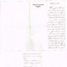 Manuscritos antiguos: 2 DOCUMENTS MANUSCRITS OBISPADO DE URGEL TIRVIA 1886 BASELLA 1894. Lote 166085722
