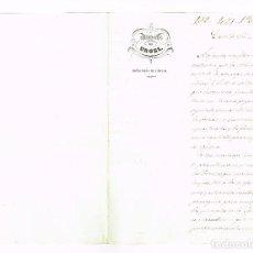 Manuscritos antiguos: OBISPADO DE URGEL CERC EL GES ALT URGELL 1860 FIRMA OBISPO . Lote 166304306