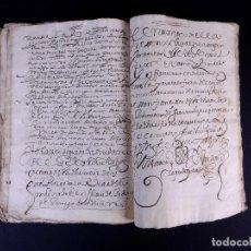 Manuscritos antiguos: MARQUESADO DE VILLASANTE. VALLADOLID 1608. Lote 166506062