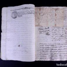 Manuscritos antiguos: BARÓN DE ESTAIMBOURG 1789. Lote 166777270