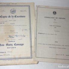 Manuscritos antiguos: ORIGINAL ANTIGUO CREVILLENTE CREVILLENT. Lote 166991904