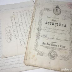 Manuscritos antiguos: ORIGINAL ANTIGUO ELCHE. Lote 166992124