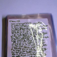 Manuscritos antiguos: DURANCAMPS - CARPETA CON 80 DOCUMENTOS DIFERENTES ÉPOCA DESDE 1930 APROX 1970 (SABADELL). Lote 81558836
