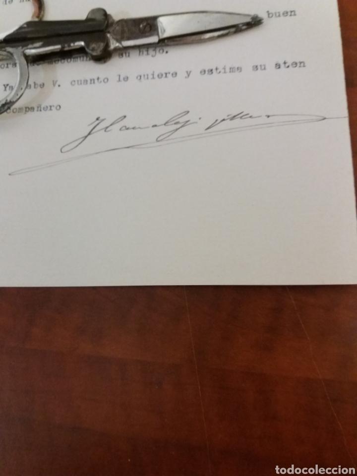 Manuscritos antiguos: José Canalejas Diputado a Cortés por Alcoy Alicante 1906 - Foto 2 - 169030857