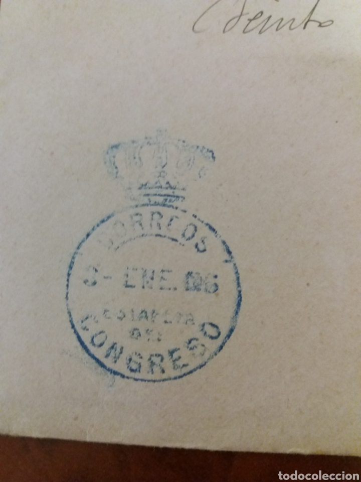 Manuscritos antiguos: José Canalejas Diputado a Cortés por Alcoy Alicante 1906 - Foto 5 - 169030857