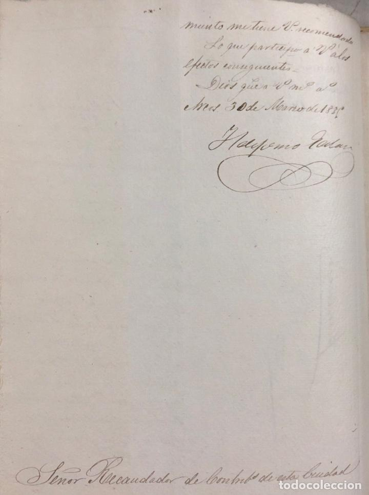 Manuscritos antiguos: ARCOS, 1885. EXPEDIENTE SOBRE LA COMISION DE APREMIOS DE LA RECAUDACION DE CONTRUBUCIONES. LEER - Foto 4 - 169266824