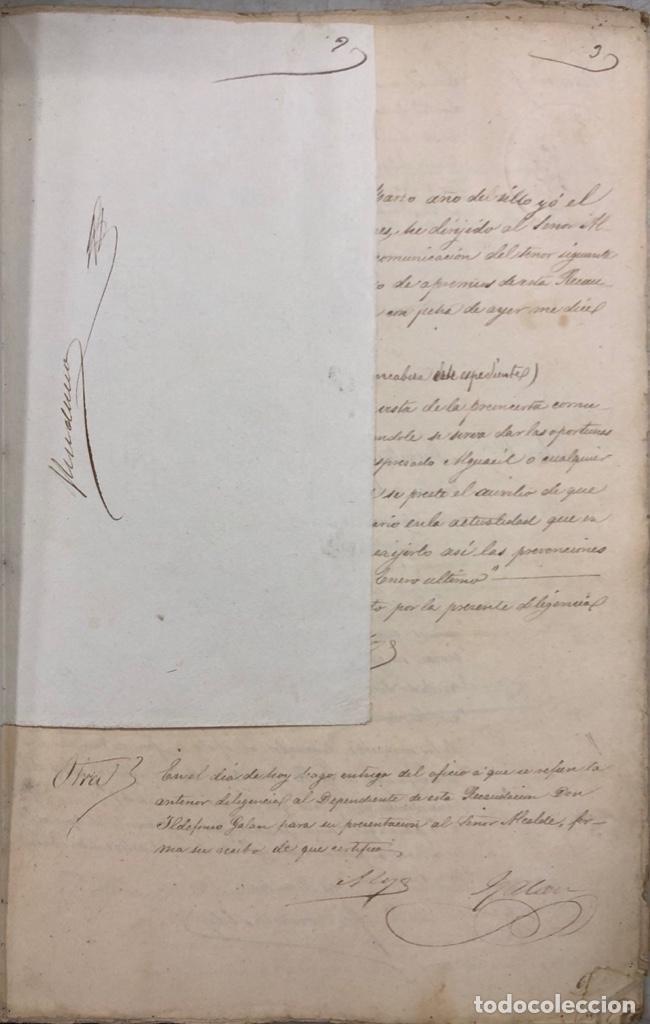 Manuscritos antiguos: ARCOS, 1885. EXPEDIENTE SOBRE LA COMISION DE APREMIOS DE LA RECAUDACION DE CONTRUBUCIONES. LEER - Foto 5 - 169266824