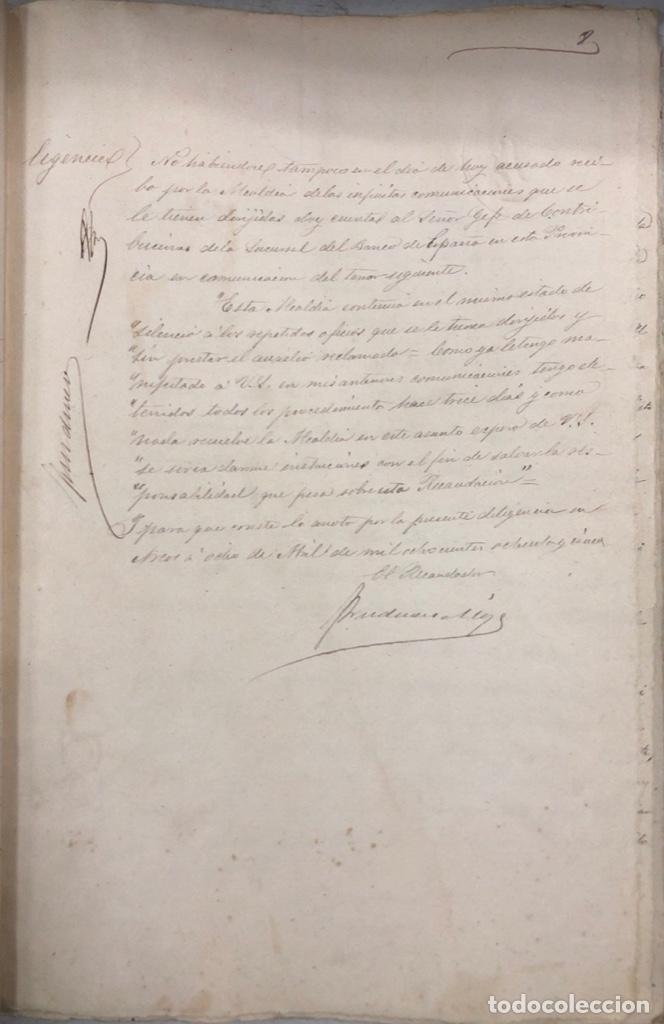 Manuscritos antiguos: ARCOS, 1885. EXPEDIENTE SOBRE LA COMISION DE APREMIOS DE LA RECAUDACION DE CONTRUBUCIONES. LEER - Foto 16 - 169266824