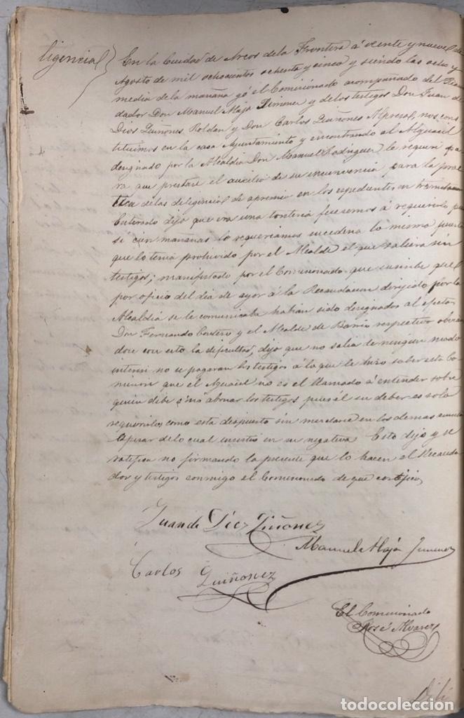 Manuscritos antiguos: ARCOS, 1885. EXPEDIENTE SOBRE LA COMISION DE APREMIOS DE LA RECAUDACION DE CONTRUBUCIONES. LEER - Foto 19 - 169266824
