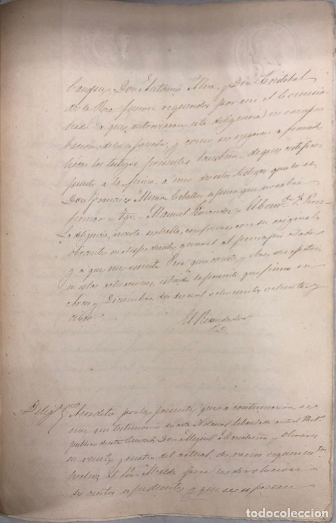 Manuscritos antiguos: ARCOS, 1885. EXPEDIENTE SOBRE LA COMISION DE APREMIOS DE LA RECAUDACION DE CONTRUBUCIONES. LEER - Foto 24 - 169266824