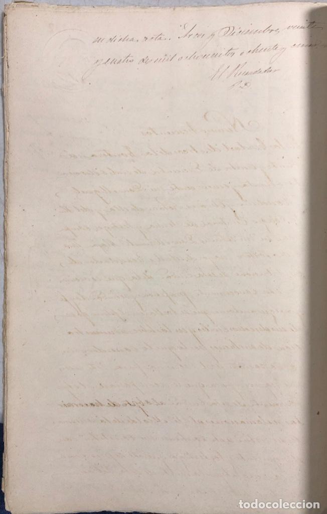 Manuscritos antiguos: ARCOS, 1885. EXPEDIENTE SOBRE LA COMISION DE APREMIOS DE LA RECAUDACION DE CONTRUBUCIONES. LEER - Foto 25 - 169266824