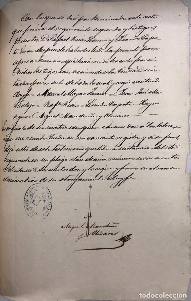 Manuscritos antiguos: ARCOS, 1885. EXPEDIENTE SOBRE LA COMISION DE APREMIOS DE LA RECAUDACION DE CONTRUBUCIONES. LEER - Foto 28 - 169266824