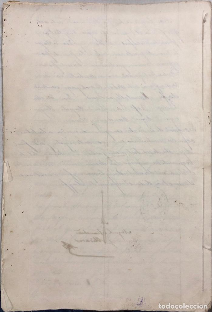 Manuscritos antiguos: ARCOS, 1885. EXPEDIENTE SOBRE LA COMISION DE APREMIOS DE LA RECAUDACION DE CONTRUBUCIONES. LEER - Foto 29 - 169266824