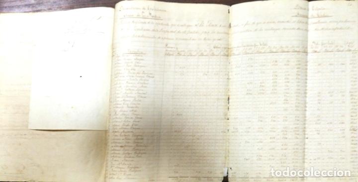 Manuscritos antiguos: ARCOS DE LA FRONTERA. 1885. EXPEDIENTE DE HACIENDA. RELACION DE DEUDORES. - Foto 3 - 169267280