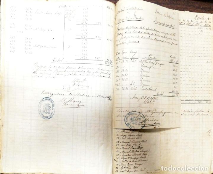 Manuscritos antiguos: ARCOS DE LA FRONTERA. 1885. EXPEDIENTE DE HACIENDA. RELACION DE DEUDORES. - Foto 5 - 169267280