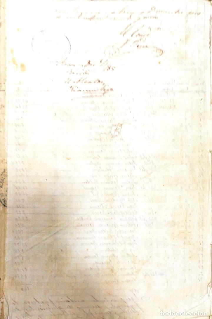 Manuscritos antiguos: ARCOS DE LA FRONTERA. 1885. EXPEDIENTE DE HACIENDA. RELACION DE DEUDORES. - Foto 6 - 169267280
