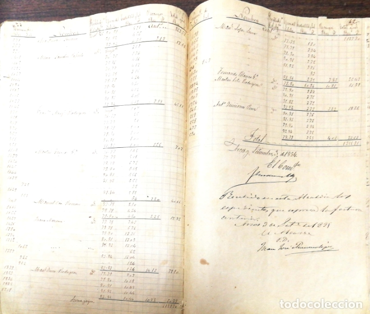 Manuscritos antiguos: ARCOS DE LA FRONTERA. 1885. EXPEDIENTE DE HACIENDA. RELACION DE DEUDORES. - Foto 7 - 169267280
