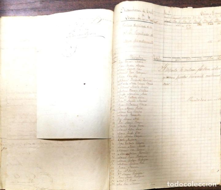 Manuscritos antiguos: ARCOS DE LA FRONTERA. 1885. EXPEDIENTE DE HACIENDA. RELACION DE DEUDORES. - Foto 12 - 169267280