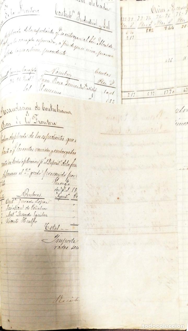 Manuscritos antiguos: ARCOS DE LA FRONTERA. 1885. EXPEDIENTE DE HACIENDA. RELACION DE DEUDORES. - Foto 13 - 169267280