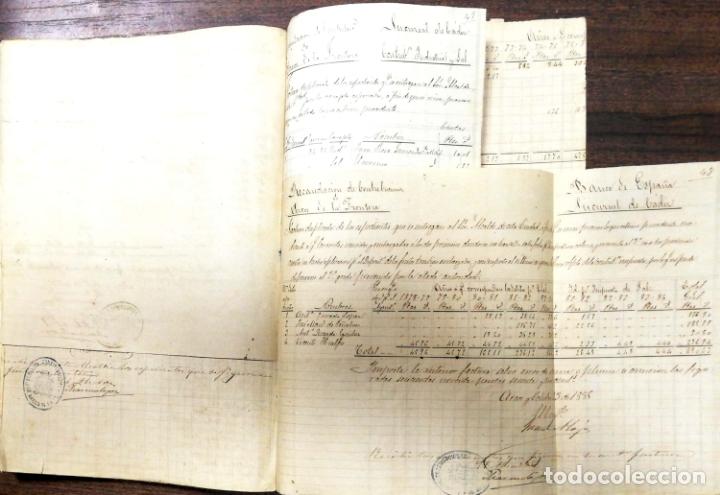 Manuscritos antiguos: ARCOS DE LA FRONTERA. 1885. EXPEDIENTE DE HACIENDA. RELACION DE DEUDORES. - Foto 15 - 169267280