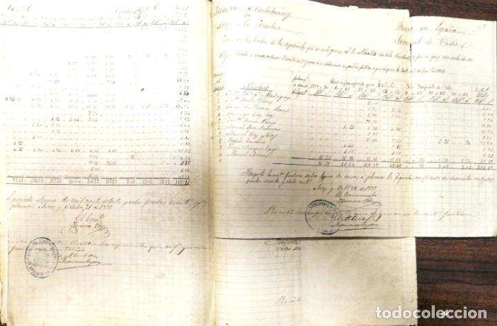 Manuscritos antiguos: ARCOS DE LA FRONTERA. 1885. EXPEDIENTE DE HACIENDA. RELACION DE DEUDORES. - Foto 16 - 169267280