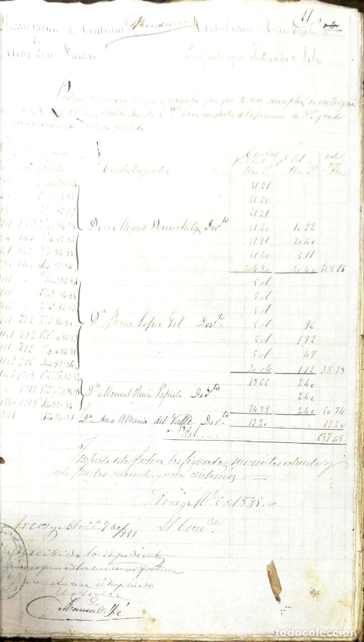 Manuscritos antiguos: ARCOS DE LA FRONTERA. 1885. EXPEDIENTE DE HACIENDA. RELACION DE DEUDORES. - Foto 19 - 169267280