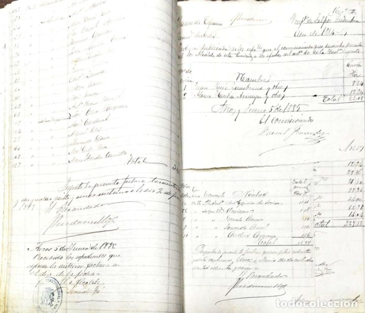 Manuscritos antiguos: ARCOS DE LA FRONTERA. 1885. EXPEDIENTE DE HACIENDA. RELACION DE DEUDORES. - Foto 23 - 169267280