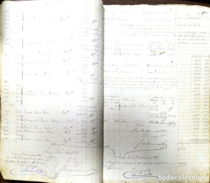 Manuscritos antiguos: ARCOS DE LA FRONTERA. 1885. EXPEDIENTE DE HACIENDA. RELACION DE DEUDORES. - Foto 26 - 169267280