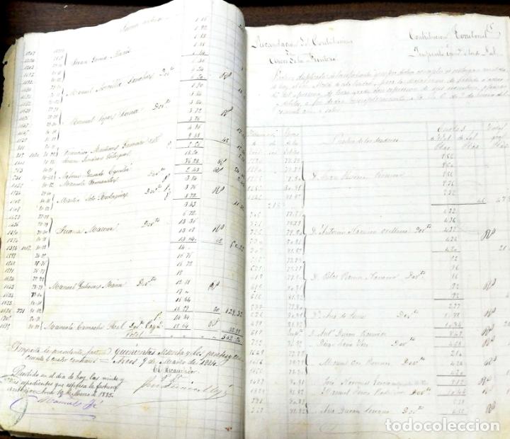 Manuscritos antiguos: ARCOS DE LA FRONTERA. 1885. EXPEDIENTE DE HACIENDA. RELACION DE DEUDORES. - Foto 30 - 169267280