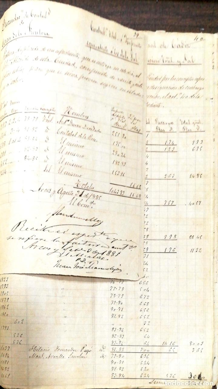 Manuscritos antiguos: ARCOS DE LA FRONTERA. 1885. EXPEDIENTE DE HACIENDA. RELACION DE DEUDORES. - Foto 38 - 169267280