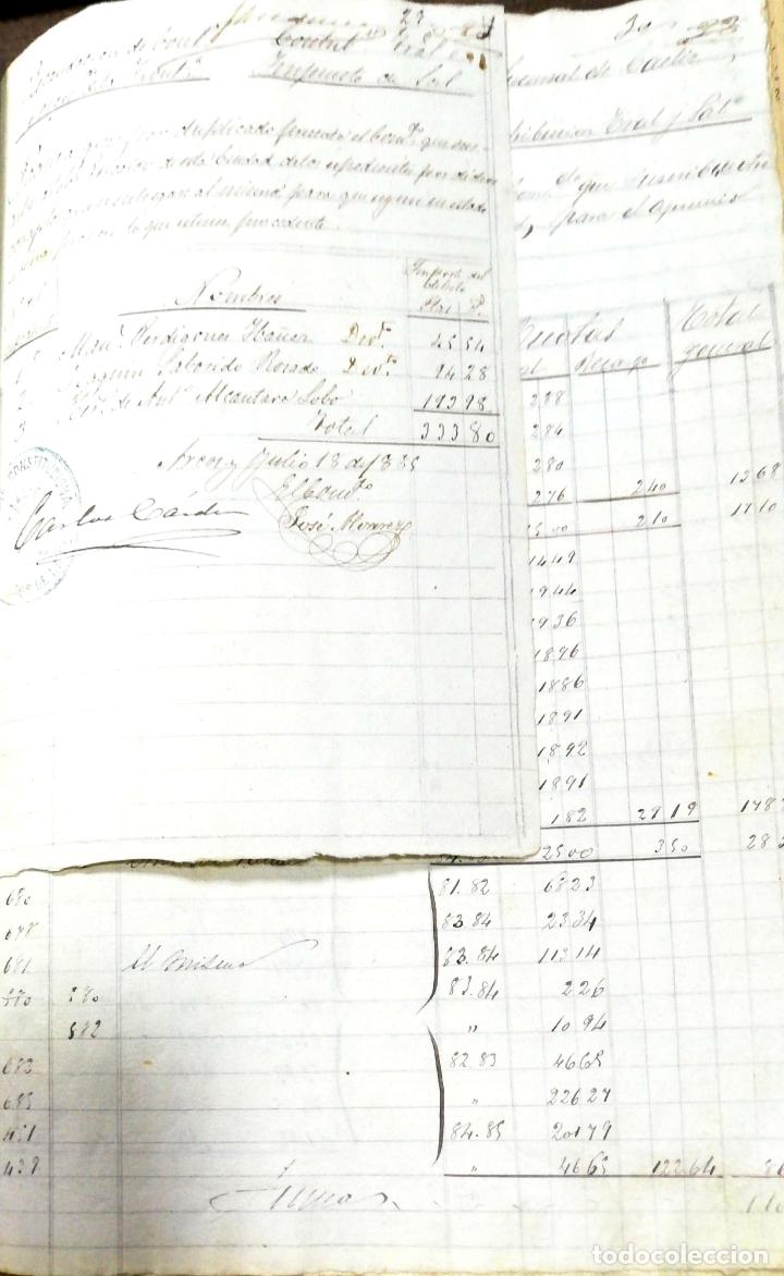 Manuscritos antiguos: ARCOS DE LA FRONTERA. 1885. EXPEDIENTE DE HACIENDA. RELACION DE DEUDORES. - Foto 39 - 169267280