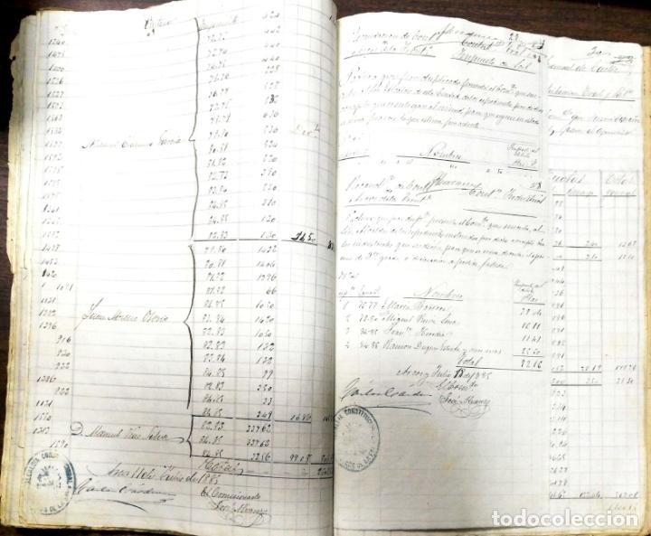 Manuscritos antiguos: ARCOS DE LA FRONTERA. 1885. EXPEDIENTE DE HACIENDA. RELACION DE DEUDORES. - Foto 49 - 169267280