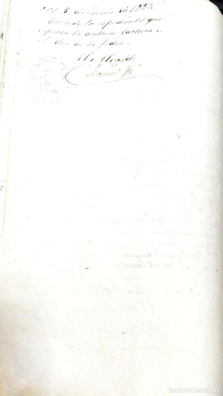 Manuscritos antiguos: ARCOS DE LA FRONTERA. 1885. EXPEDIENTE DE HACIENDA. RELACION DE DEUDORES. - Foto 51 - 169267280