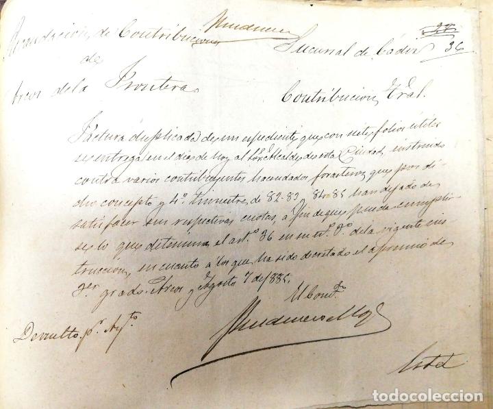 Manuscritos antiguos: ARCOS DE LA FRONTERA. 1885. EXPEDIENTE DE HACIENDA. RELACION DE DEUDORES. - Foto 54 - 169267280